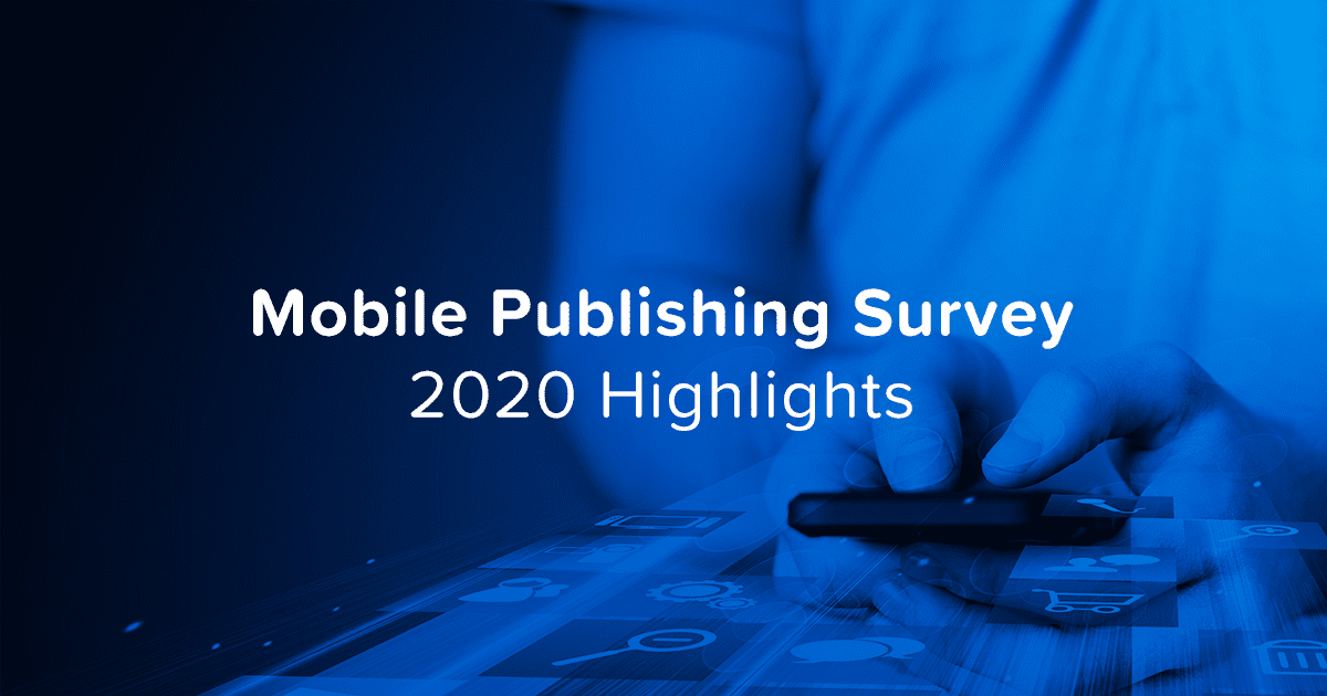 Mobile Publishing Survey Blog Header